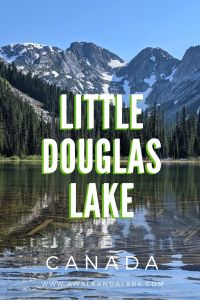 Little Douglas Lake - Camp right by the water at this pretty alpine lake
