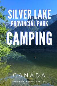 Silver Lake Provincial Park -Camping near Hope, BC