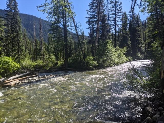 Similkameen River in Manning Park
