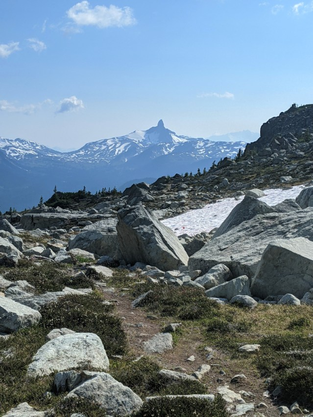 Black Tusk from the trail