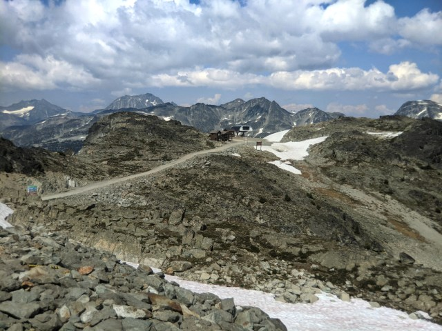 Top of Harmony Express and the Saddle