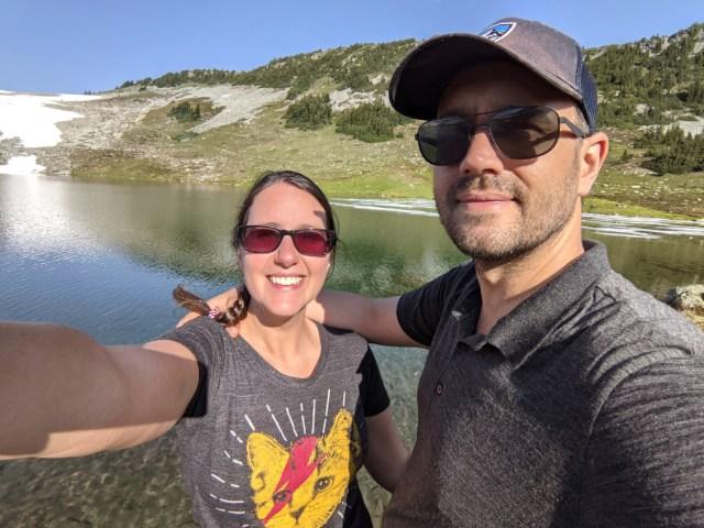 We made it to Russet Lake