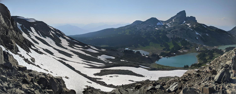Black Tusk from along Panorama Ridge