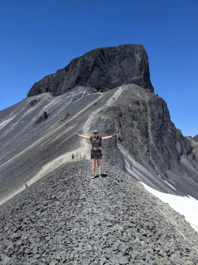 Black Tusk ridge above Helm Lake