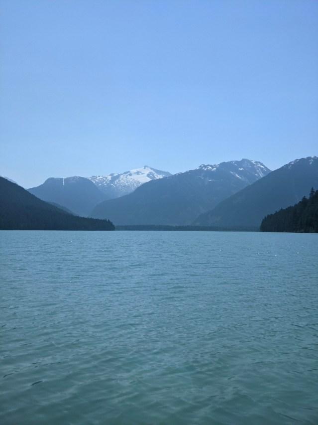 Cheakamus Lake views