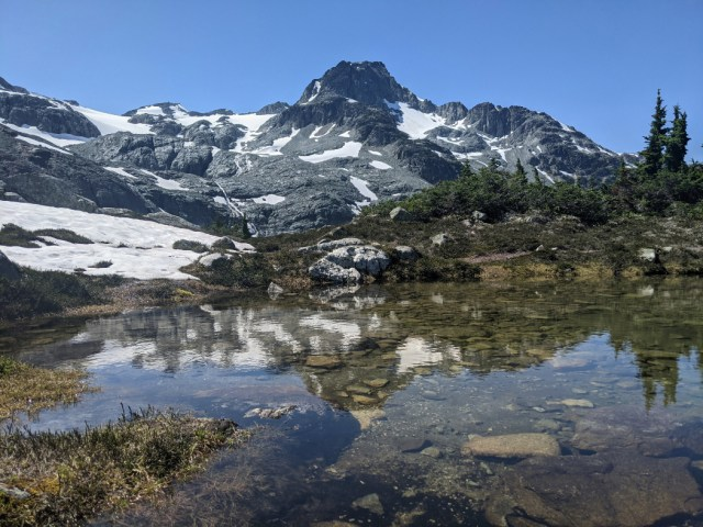 Reflections and Face Mountain