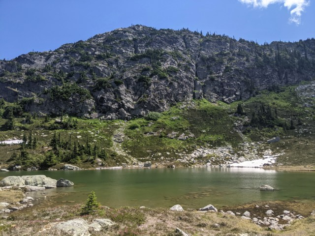 Views from the Upper Semaphore Lake