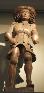 Wooden statue from 15th century
