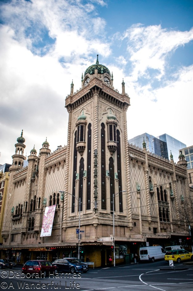 Opened in 1929, the Forum Theatre in Melbourne, Australia