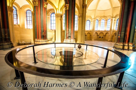 The Foucault Pendulum within the Musee des Arts et Metiers in Paris.