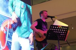 Grason Craig from I Love OPM opened the event with his acoustic performance