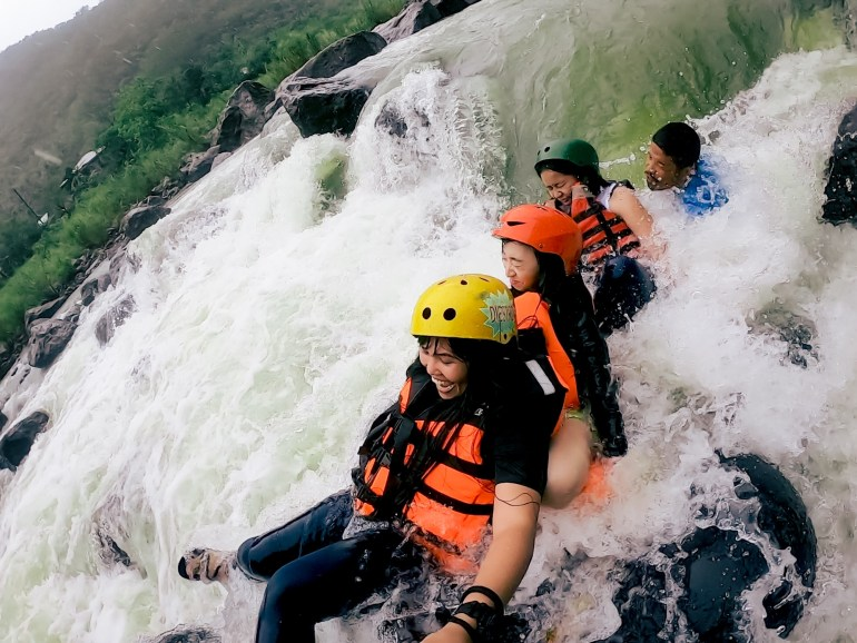 Real Whitewater Rafting