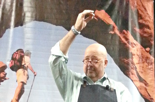 Andrew Zimmern at Travel and Adventure Show