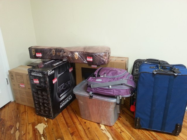 Packing to Move to Europe