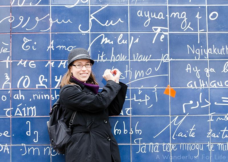 Paris Love Wall