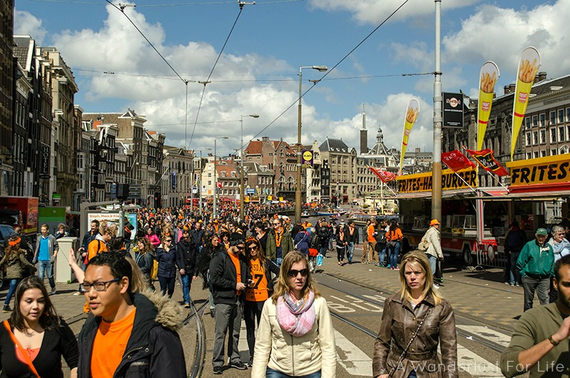 Kings Day Crowd
