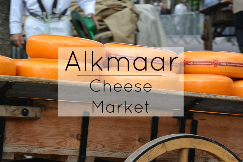 Alkmaar: Cheese Market in North Holland