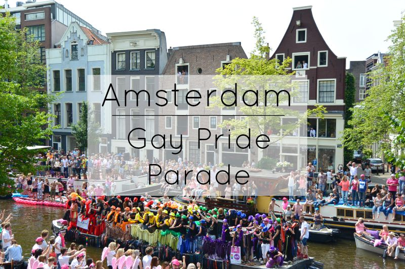 Amsterdam Pride Parade: What to expect