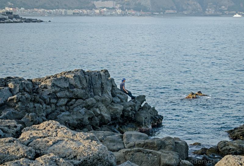 Giardini-Naxos Sea
