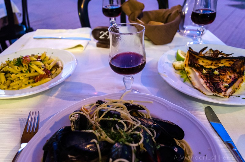 Dinner in Sicily