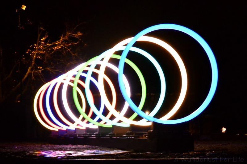 Amsterdam Light Festival Rings