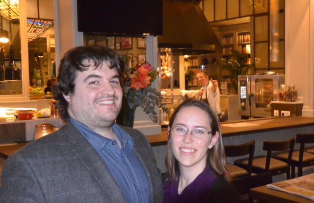 Sean and Jessica at Haarlem Zocher