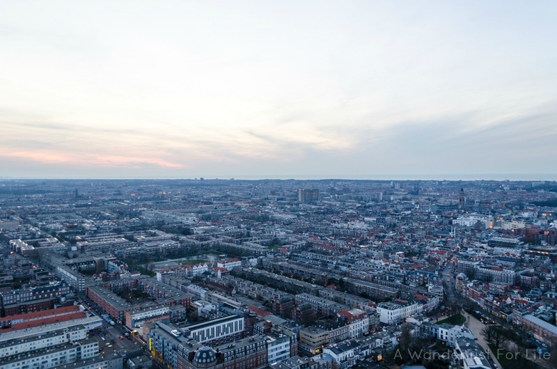The Hague - View from Above