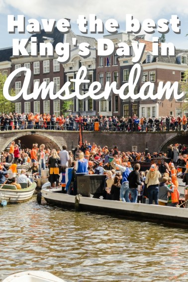 Best Kings Day Ever in Amsterdam