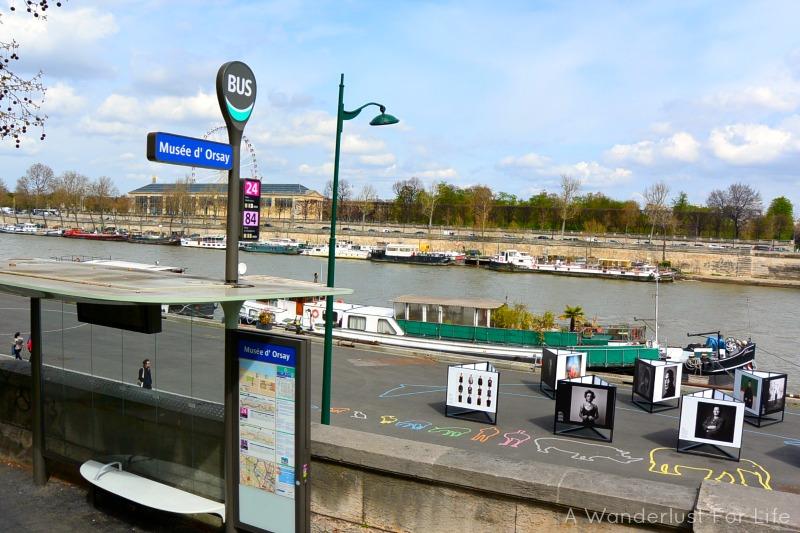 Paris Bus Stop