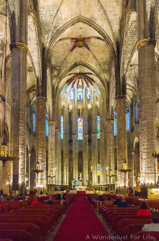 Barcelona Food Tour Church