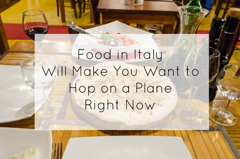 Italy Food Title