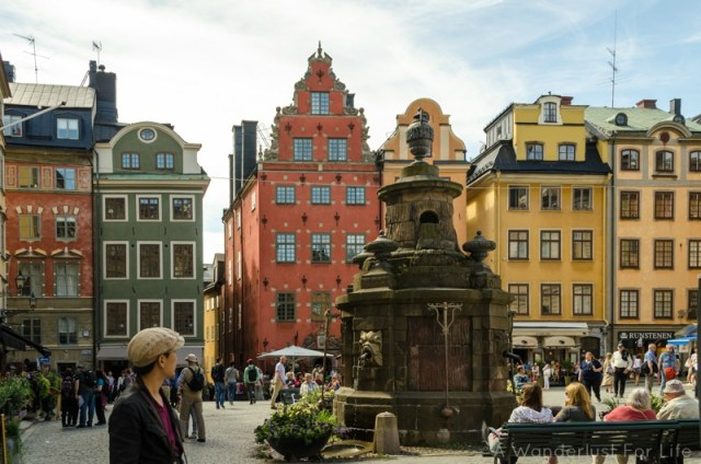 Love Stockholm's beautiful buildings