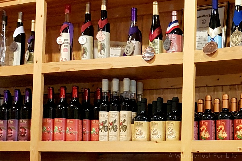 Hill Top Berry Farm and Winery