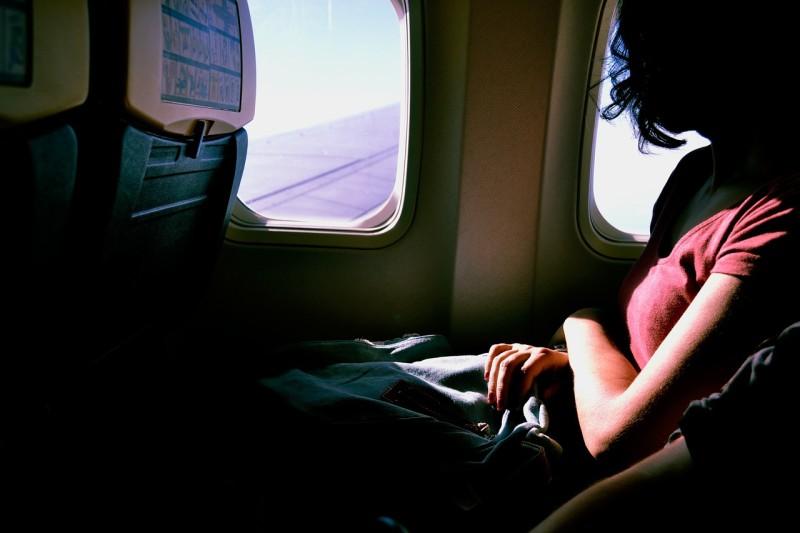 airplane window seat