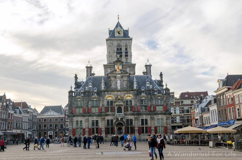 Delft Groot Market City Hall