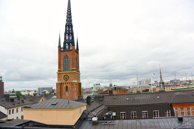 Rooftop hiking in Stockholm