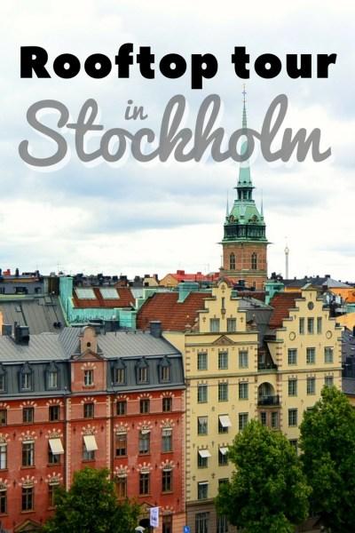 Stockholm Rooftop Tour - must do when in Stockholm, Sweden