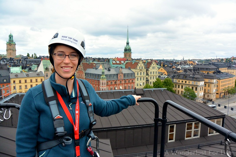 Rooftop tour in Stockholm