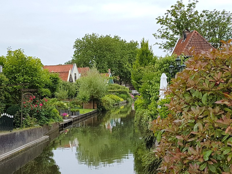 A great view of Edam - just outside Amsterdam