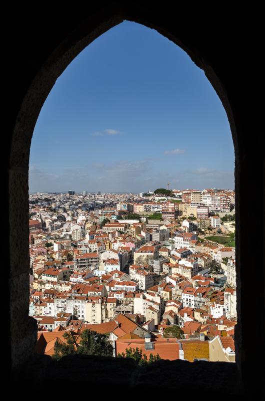 Lisbon through the window