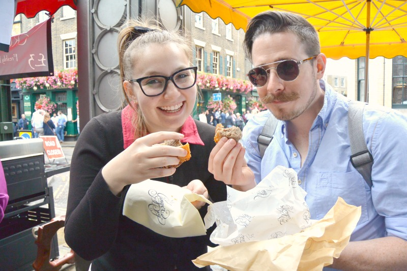 Sausage roll in London Secret Food Tours