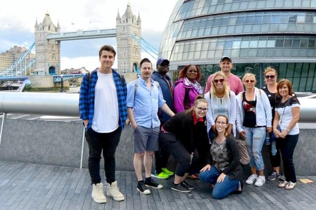 Secret Food Tours London group