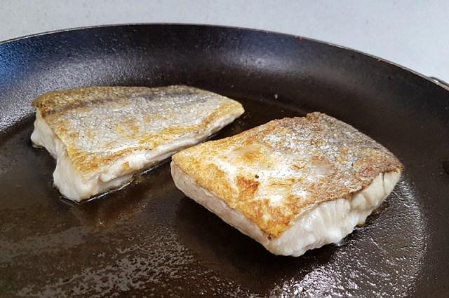 Dingle Cookery School fish - fresh Hake