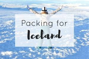 Packing for Iceland