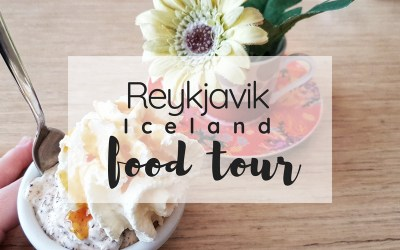 Iceland food tour title