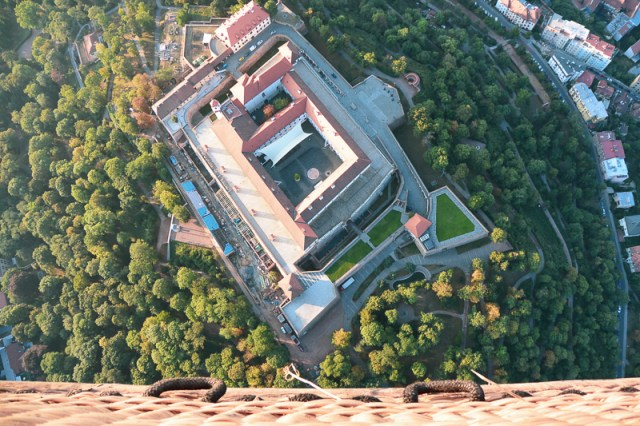Brno view from above