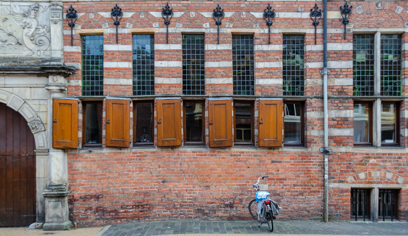 Travel from Amsterdam to Groningen to see buildings like this