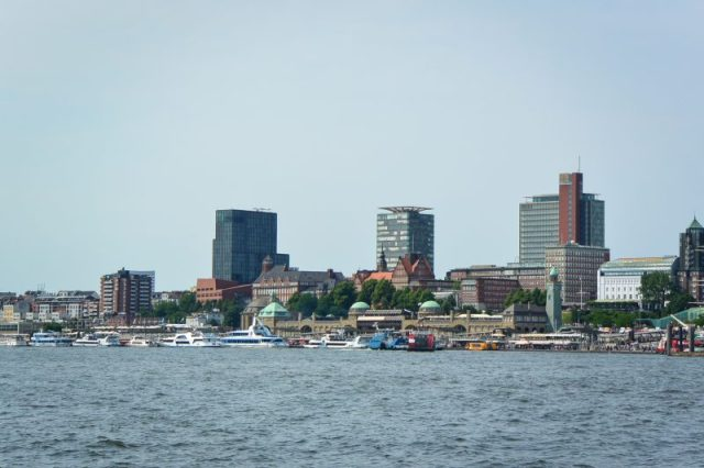 Hamburg from the water