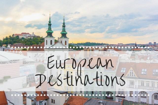 Euro Destinations title