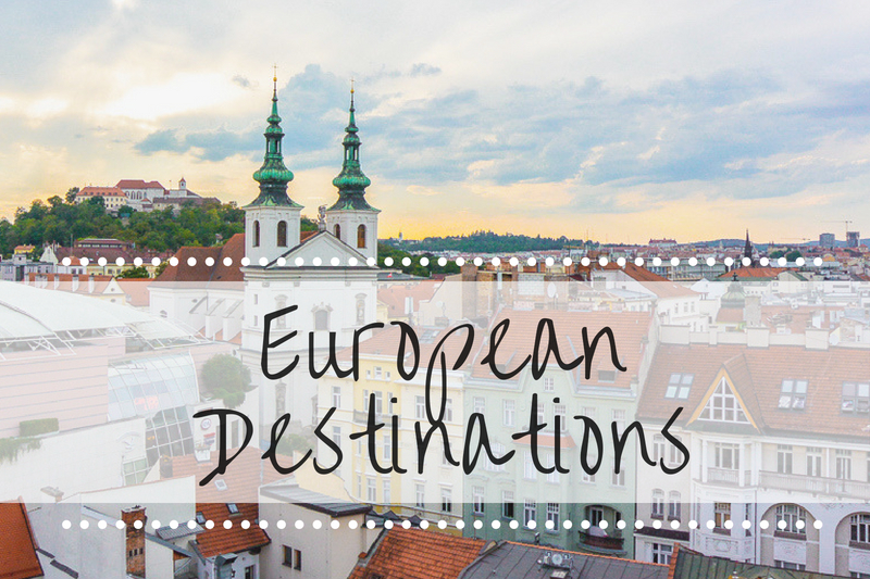 Euro Destinations title